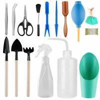 16 pcs Mini Gardening Tool Set Succulent Plants Tools Garden Plant Care