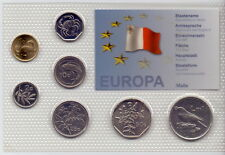 Malta - KMS 7 Münzen aus 1998-2004 - UNC Satz