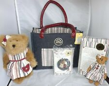 Boyds Bears 2007 Membership Kit Shoppin' til I'm Droppin' 2 Bears, Pin & Tote