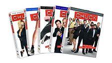 Chuck: Complete Zachary Levi TV Series Seasons 1 2 3 4 5 Box / DVD Set(s) NEW!