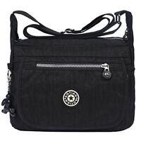 EGOGO Water Resistant Nylon Casual Handbag Shoulder Bag Messenger Cross Body Bag
