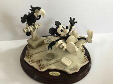 Walt Disney Steamboat Willie by Giuseppe Armani Italy w/ CoA Brand New 377/1000