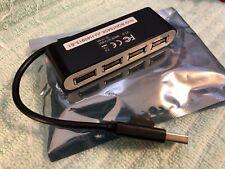Mini 4 Port USB 2.0 High Speed Hub Splitter FOR DESK TOP  NOTE BOOK , ORIGINAL