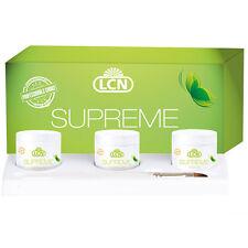 LCN Supreme gel set con q10 queratina y seidenextrakt bioverträglich