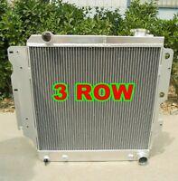FAN Fits 1942-1948 Ford//Mercury Series Chevy V8 swap 3Row Aluminium Radiator