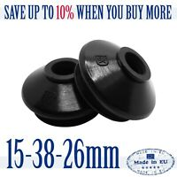 2X HQ Rubber 15 38 26 Track Rod End Ball Joint Dust Cover Suspension Replacement