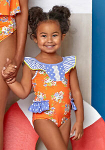 NWT girls MATILDA JANE Lets go together Relay Swimsuit size 8 NEW