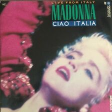 Live From Italy Madonna Ciao Italia (Laserdisc) Extended Play Single Disc