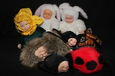 Collectible ANNE GEDDES DOLLS 'Bean Filled' Collection Package