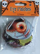 Zombie Pansements oculaires, 12 Pièces Fête de Halloween, des bonbons ou un sort