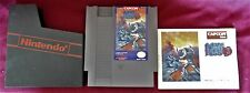 Vintage 1990 Mega Man 3 Game w Manual Nintendo NES by Capcom