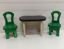 KidKraft Wood Dollhouse Furniture Kitchen Table & Chairs