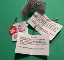 """Girl Scout Swaps Craft Kit """"First Aid Booklet"""" with Free Patch"""