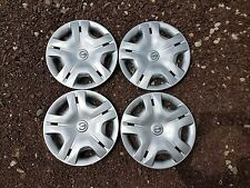 "Set of 4 Brand New 2010 10 2011 11 2012 12 Versa 15"" Hubcaps Wheel Covers 53083"