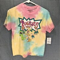 Nickelodeon Rugrats Tie Dye T-Shirt Men's Size Small