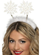 SNOWFLAKE HEAD BOPPERS LADIES CHRISTMAS PARTY FANCY DRESS ACCESSORY