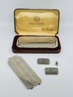 Vintage Rolls Razor The Traveler Shaving Kit Made in England  with original case