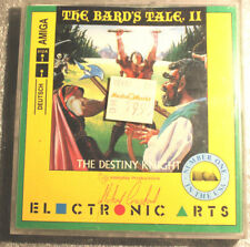 AMIGA THE Bards Bard's Tale II The Destiny Knight neuf dans sa boîte Top c64 ELECTRONIC ARTS