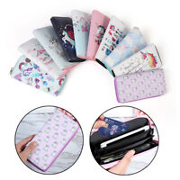 Women Unicorn Wallet Clutch Long Leather Purse Card Holder Phone Zipper Handbags