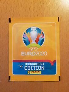 Panini Tüte Euro 2020 2021 Version Matt Gelb Tournament Edition UK packet bag