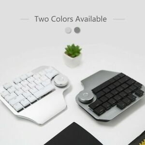 TypeC T11 PS CAD AI Keypad Smart Dial Drawing Designer Wired Keyboard / Keypad