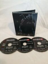 PS3 - Mass Effect Trilogy (3 Games) - Excellent Condition - No Slipcover - 1 2 3