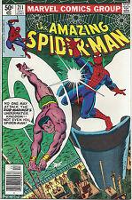 Spiderman #211 Dec  1980