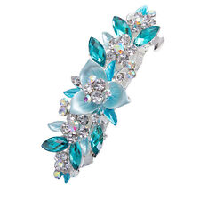 Women's Crystal Flower Barrettes Hair Clips Hairpin Hair Pin Hair Accessories