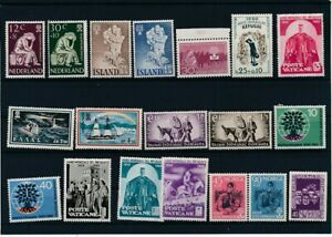 D174110 World Refugee Year 1960 Nice selection of MNH stamps