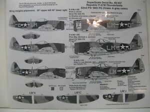 SUPERSCALE 1/48 P-47M THUNDERBOLTS   #48-937