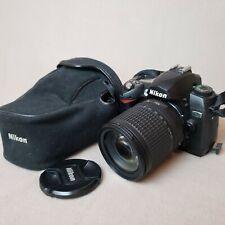 Nikon D70 Digital SLR Camera - with Nikon-AF-S-Nikkor 18-135 MM Lens + Bag