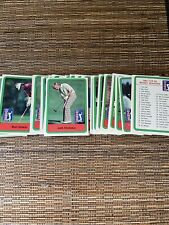 1982 Dontuss golf complete set pack fresh w/Jack Nicklaus