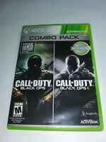 Black Ops Combo Pack Xbox 360 Discs In Good Condition Very Fast Shipping