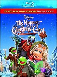 DISNEY : THE MUPPET CHRISTMAS CAROL :20th Anniversary - BLU RAY -  Region free