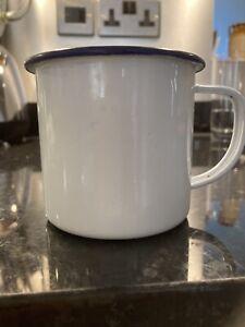 Rustic Enamel Drinking Mug