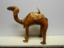Vintage Camel figure figurine highly decorated