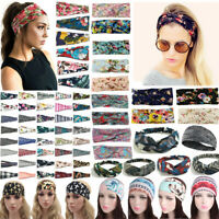Stretchy Twist Knot Head Wrap Headband Twisted Knotted Ladies Sports Hair Band