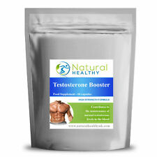 60 TESTOSTERONE BOOSTER PILLS - UK SUPPLEMENT - MALE TEST AND SEX LIBIDO BOOST