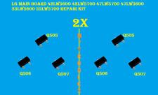 2x  LG  MAIN BOARD 42LW5600 42LW5700 47LW5700 47LW5600 55LW5600/5700  REPAIR KIT