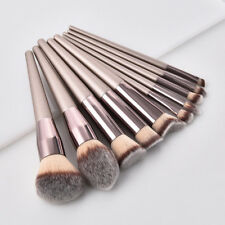 Women Pro Soft Cosmetic Powder Foundation Eyeshadow Lip Face Makeup Brush Tools