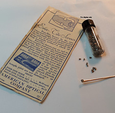 American Optical Antique Ever-Tite Temple Hinge Screws