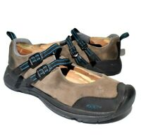 Keen Womens Size 9.5 Brown Leather Slip On Mary Jane Shoes Comfort