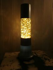 Very Rare Vintage French Fast Flowing Glitter Lava Lamp Like Mathmos/Crestworth