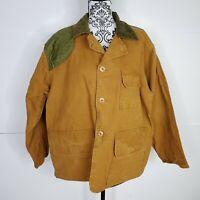 Vintage Saftbak Canvas Bird Duck Hunting Coat Jacket Game Pouch Light Shooting