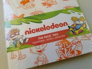 Nickelodeon The Nick '90s Notebook Journal Rugrats Hey Arnold Rocko's Loot Crate