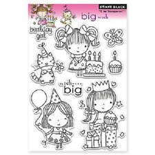 PENNY BLACK RUBBER STAMPS CLEAR BIG WISH MIMI BIRTHDAY STAMP SET