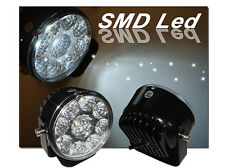 """Newest 2.75"""" LED Round Universal Metal DRL Driving Fog Lights with Mount Bracket"""