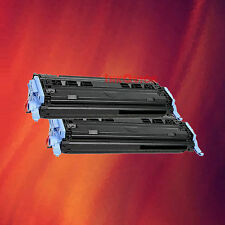 2 Black Toner Cartridge Q6000A 00A for HP LaserJet 1600