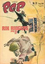 PEP 1969 nr. 31 - RIK RINGERS (COVER) / WIM RUSKA / COMICS