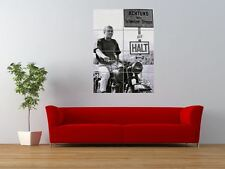 MOVIE GREAT ESCAPE STEVE MCQUEEN END SCENE GIANT ART PRINT PANEL POSTER NOR0554